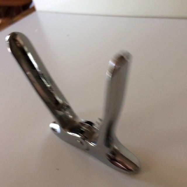 """Silver Vintage """"Champagne Key"""" Bottle Opener For Sale - Image 8 of 9"""