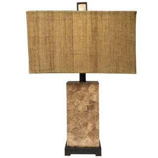 Capis Shell Table Lamp For Sale