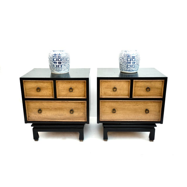 6ec04a601e59 Mid-Century Nightstands by American of Martinsville - a Pair