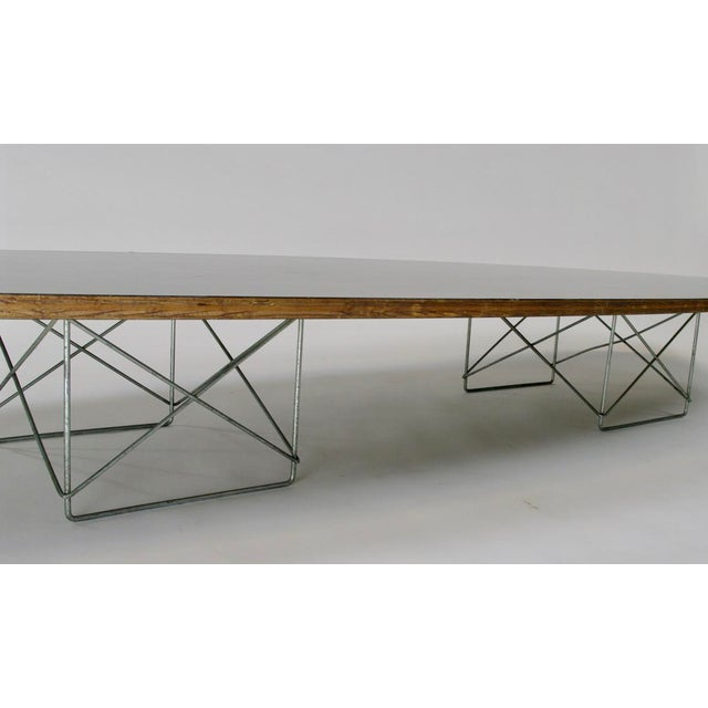 "Eames Elliptical ""Surfboard"" ETR Coffee Table - Image 6 of 11"