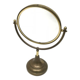 Brass Vanity Mirror For Sale