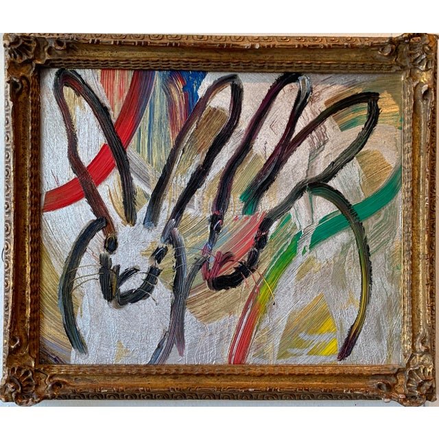 Abstract Duo Painting by Hunt Slonem For Sale - Image 3 of 4