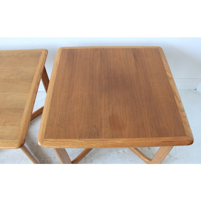 Vintage Mid Century Lane End Tables - Pair - Image 4 of 7