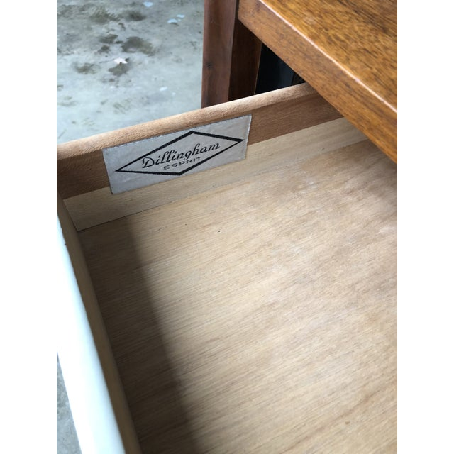 Brown 1960s Danish Modern Dillingham Nightstand For Sale - Image 8 of 13