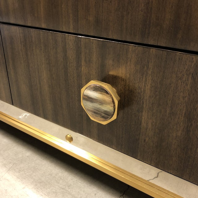 New Henredon Barclay Street Bar Cabinet For Sale In San Francisco - Image 6 of 13