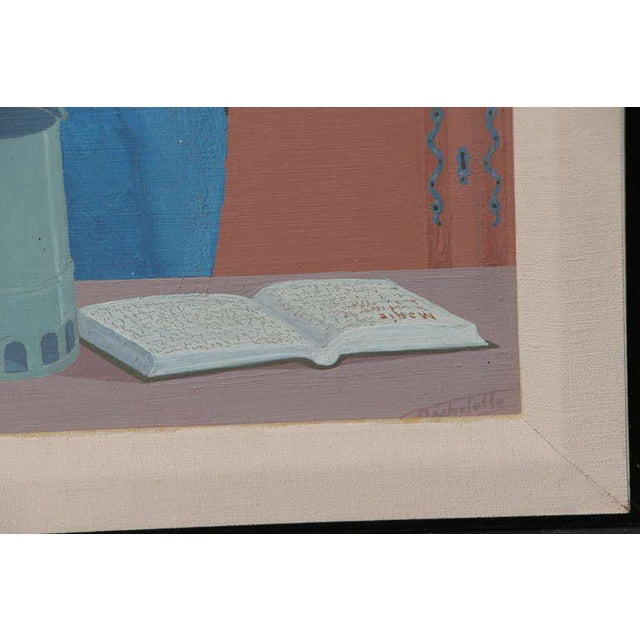 """1960s Louis Auguste Dechelette 1964 """"Mixing Poison"""" Painting For Sale - Image 5 of 9"""