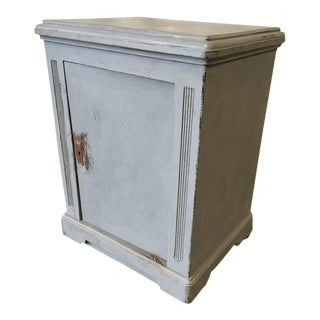 Swedish Antique Painted Side Cabinet For Sale