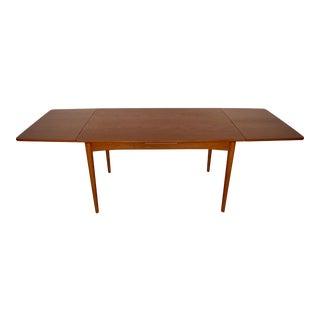 Danish Modern Teak Moreddi Dining Table For Sale