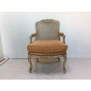 French Style Armchair With Caned Back Preview
