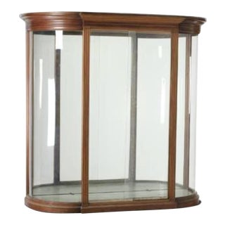 18th Century Empire Style Serpentine Vitrine For Sale