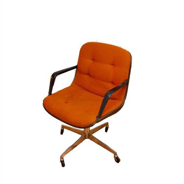 Original Charles Pollock Executive Chair - Vintage Steelcase - Image 2 of 2