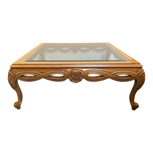 Century Furniture Chardeau Collection Coffee Table For Sale