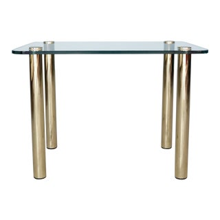 1970s Hollywood Regency Pace Brass Side Table For Sale