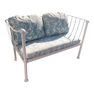 Michael Taylor Montecito Outdoor Sofa Settee For Sale