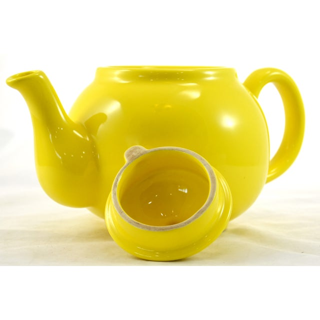 1950s Yellow Ball Teapot - Image 4 of 5