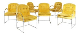 Image of Chrome Side Chairs