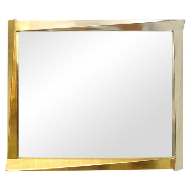 Cubism Cubist Giltwood-Framed Mirror For Sale - Image 3 of 5