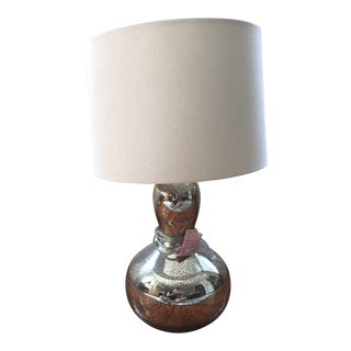 West Elm Gourd Table Lamp For Sale