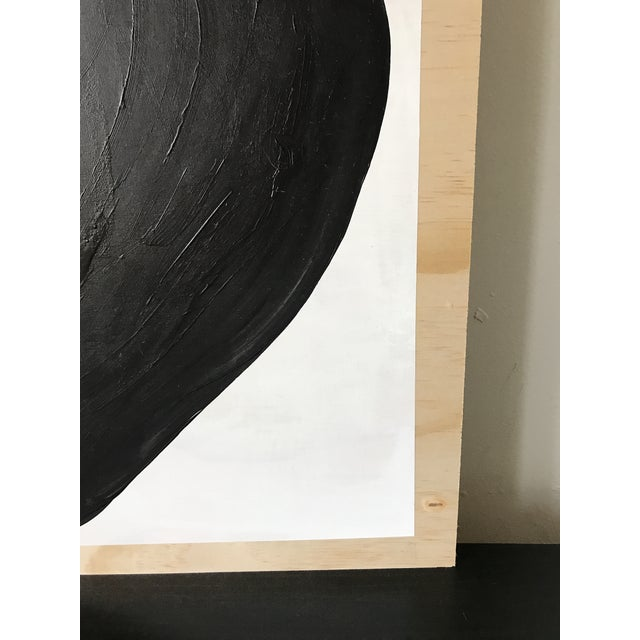 2010s Abstract Magnolia Monochrome Diptych Oversized Paintings - 2 Pc. For Sale - Image 5 of 13