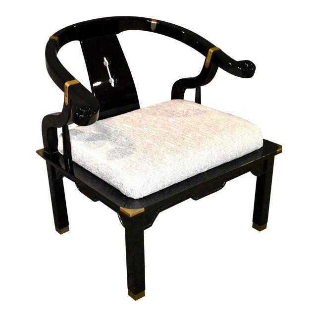1980s Pallavisini Asian Style Italian Chair For Sale