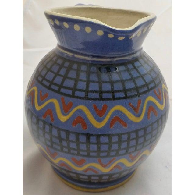 Mid-Century Italian Pottery Pitcher - Image 5 of 8
