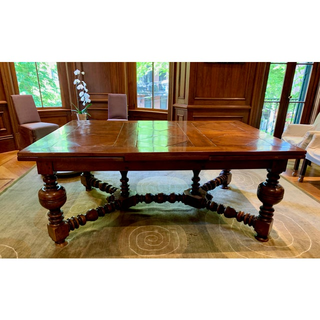 19th Century French Draw Leaf Table For Sale - Image 9 of 9