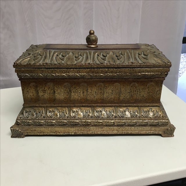 Decorative Box with Silver Accents - Image 2 of 5