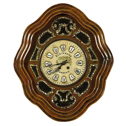 19th-Century Antique French Shop Clock For Sale