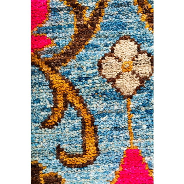 """New Hand Knotted Area Rug - 9'3"""" x 11'10"""" - Image 3 of 3"""