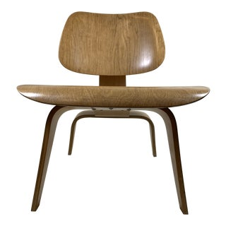 1940s Vintage Evans for Herman Miller Eames Plywood Lounge Chair For Sale