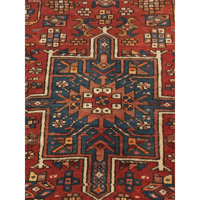 "Vintage Persian Karajeh Runner - 3'1"" x 11'6"" - Image 4 of 10"