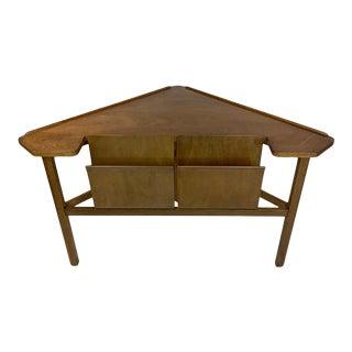 Edward Wormley for Dunbar Corner Magazine Triangular Table For Sale