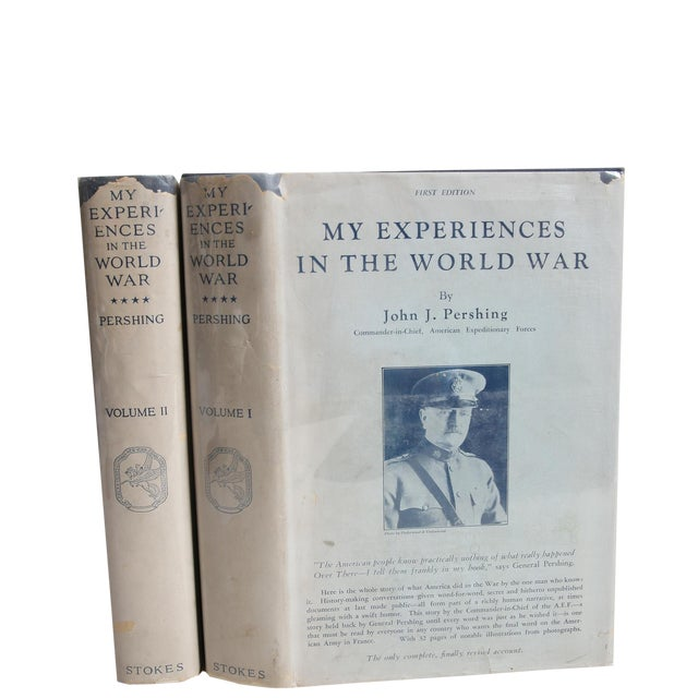 """1931 """"My Experiences in the World War Vols. I & Ii"""" Collectible Book For Sale"""