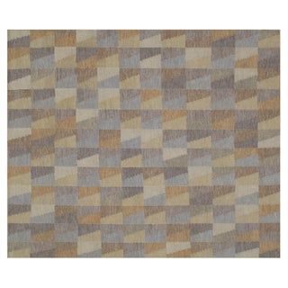Stark Studio Rugs Contemporary Flat Woven Rug - 8′ × 10′ For Sale
