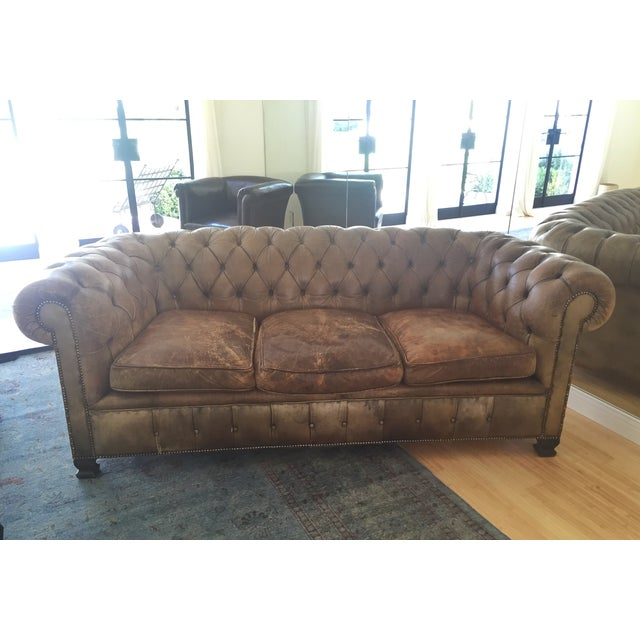 19th-Century Chesterfield Sofa - Image 8 of 8
