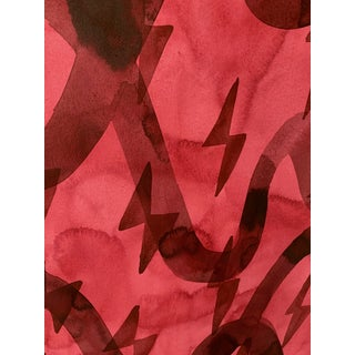 Crimson One Painting by Kate Roebuck Preview