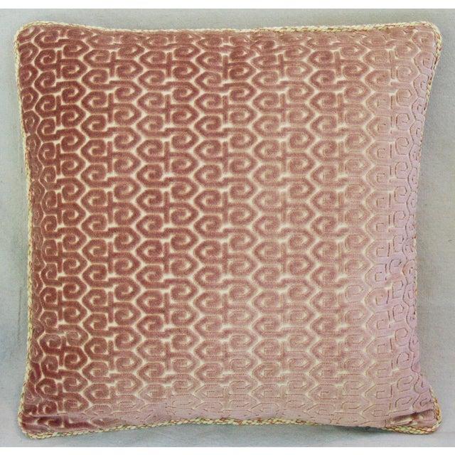 Designer Old World Weavers Velvet Pillows - A Pair - Image 7 of 11