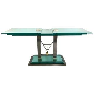 Dia, Design Institute of America Deco Revival Console Table For Sale