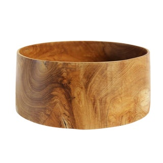 Teak Wood Bowl For Sale