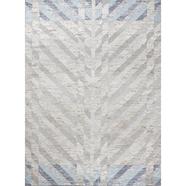 Schumacher Schumacher Narvaro Area Rug in Hand-Woven Wool, Patterson Flynn Martin For Sale - Image 4 of 4