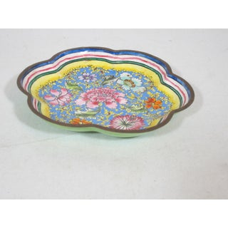 1940s Chinese Enamel Tray Preview