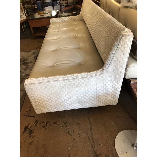 Contemporary Mid Century Modern Edward Wormley by Dunbar Open Back Sofas Newly Upholstered - Set of 2 For Sale - Image 3 of 9