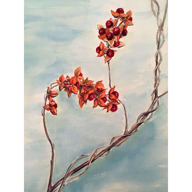 Vintage Floral Watercolor - Image 3 of 4