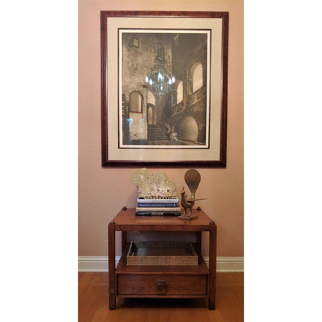These vintage Henredon tables have a provenance. They belonged to an American WWII veteran, who survived the sinking of...