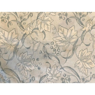 Brunschwig & Fils Maple Leaf Fabric For Sale