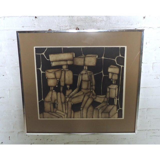 Modern Abstract Wall Print