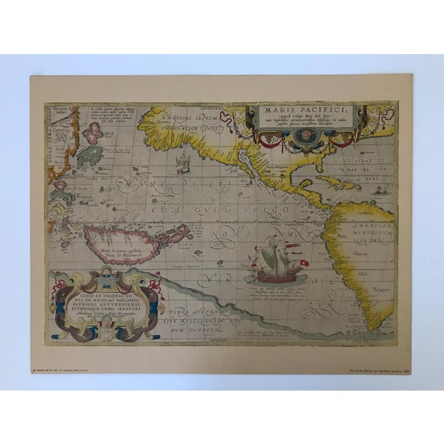 Vintage Framed Maps 1589-1670 by Speed, Ortelius, Hondius & Jansson For Sale - Image 4 of 7