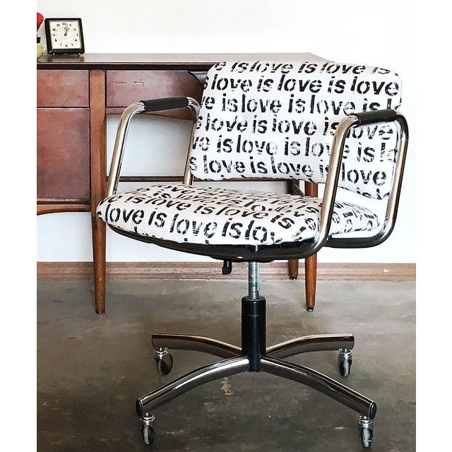 Mid-Century Custom Steelcase Office Chair - Image 7 of 7