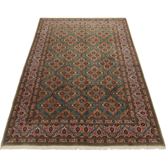 """Asian Style Persian Area Rug - 6'6"""" x 9'10"""" - Image 2 of 2"""