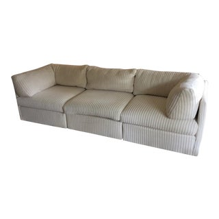 Vintage Mid Century Modern Milo Baughman for Thayer Coggin Sofa For Sale